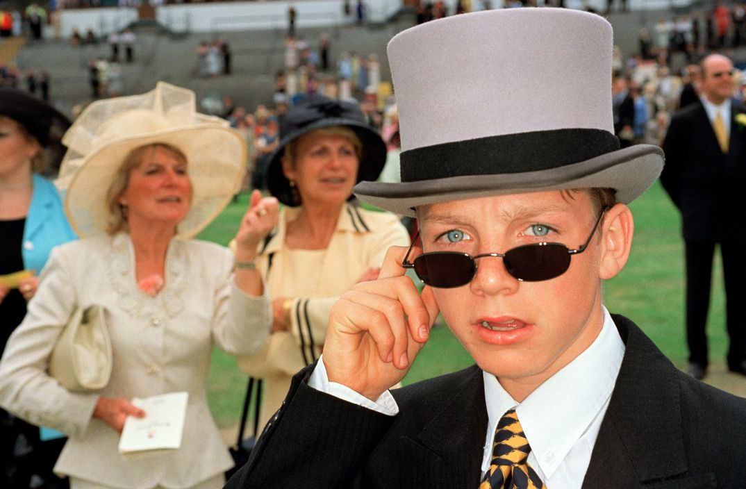 Martin Parr - Ascot. 1999.