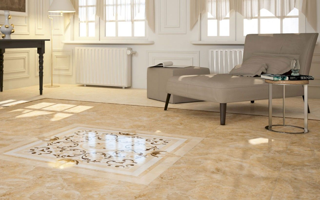 50 Classy Living Room Floor Tiles Design Ideas Round