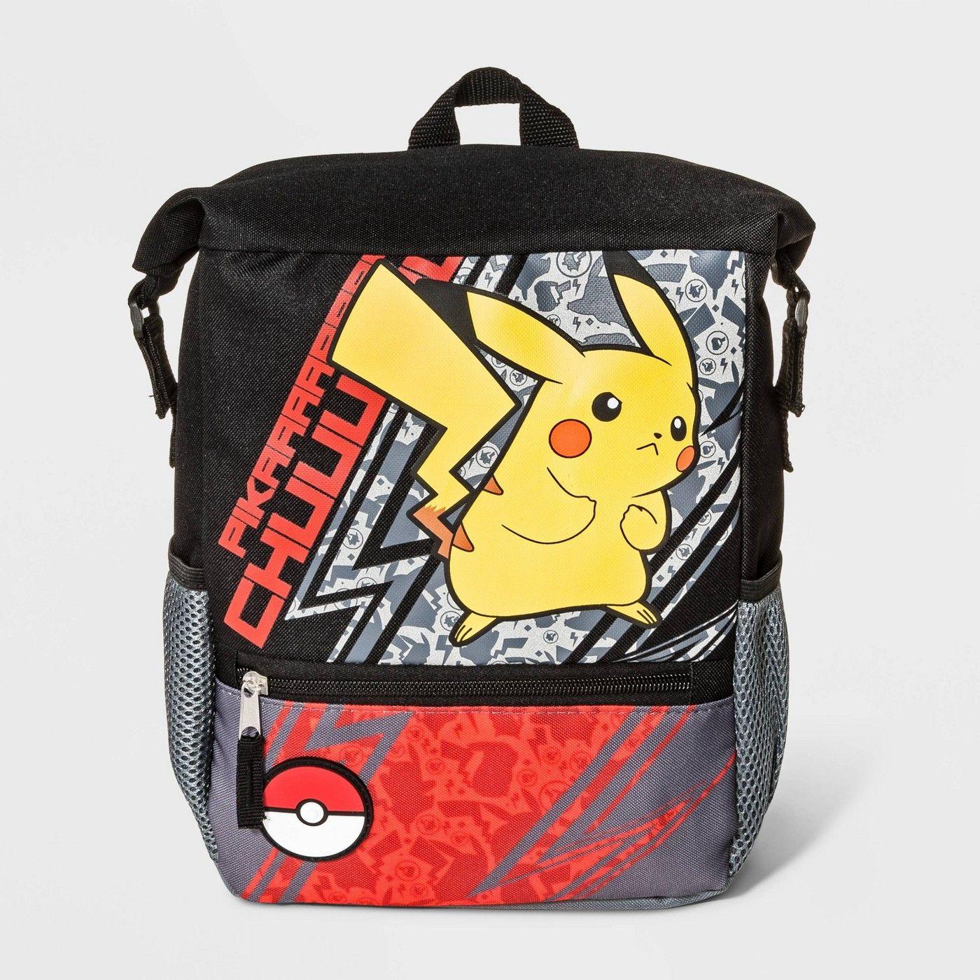 Boys pokemon pikachu mini backpack black affiliate