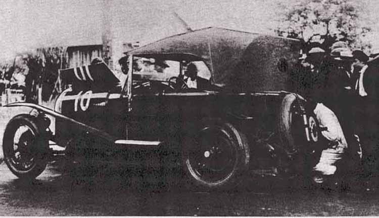 LE MANS 1925 - Bentley 3L Sport  #10 -  Bertie Kensington Moir -  J. Dudley Benjafield