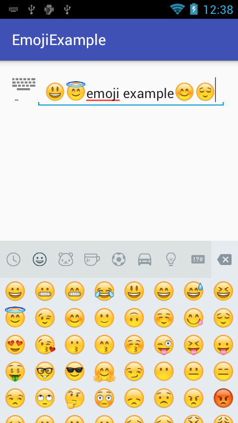 How To Integrate Emoji Keyboard In Android Emoji Keyboard Emoji Application Android