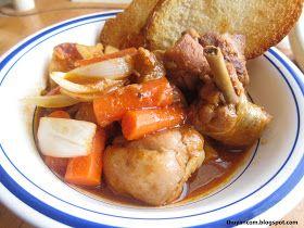A Blog of Salt: Ga Ragu - Chicken Ragu