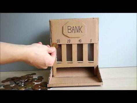 coin sorter cardboard