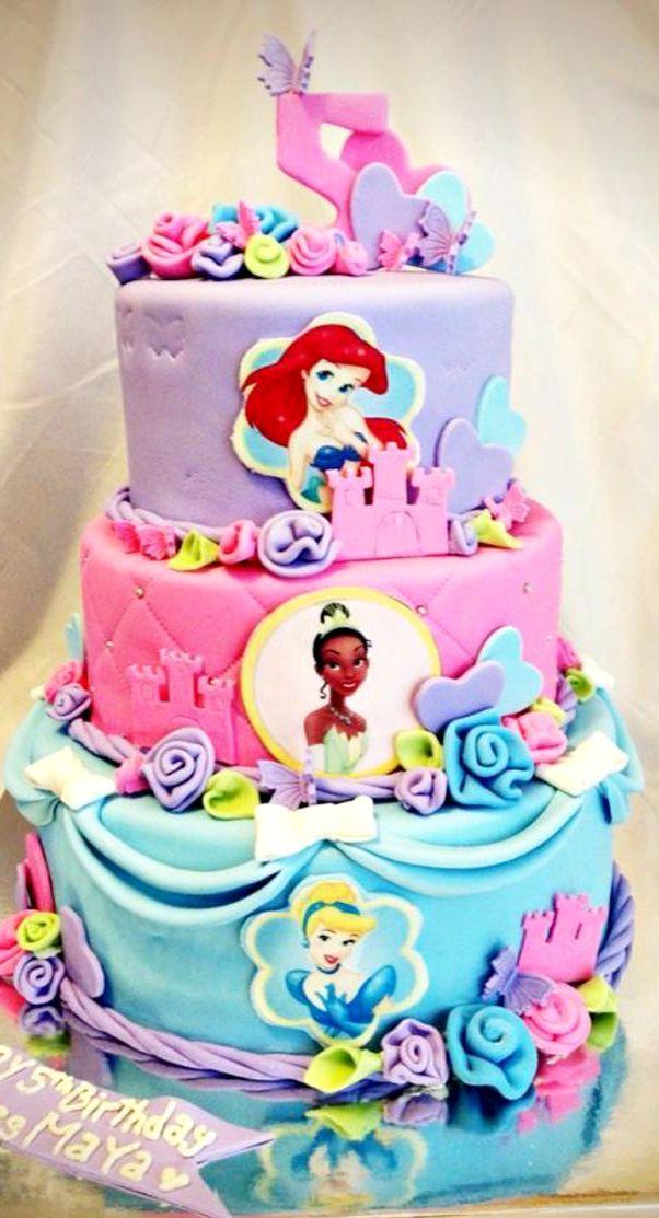 Princess Birthday Cake  Cake And Cupcake Inspiration For Kids - Cakes for princess birthday