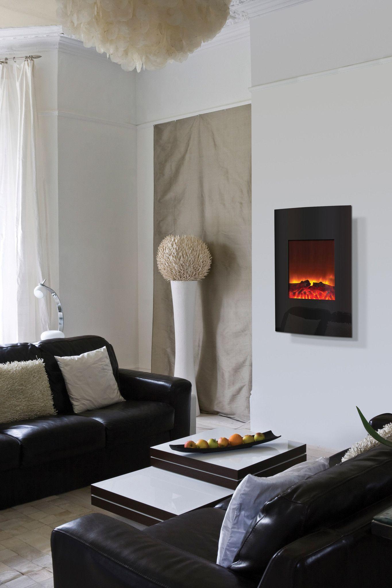 Amantii Wall Mounted Electric Fireplace Wm 2134 Electric Fireplace Fireplace Home