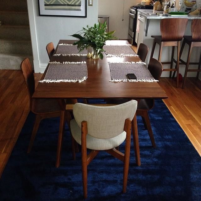 The Dining Room Is Complete Mywestelm Bentwood Chairswalnut
