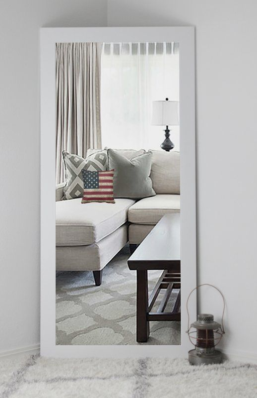 Kittle Classic White Vanity Wall Mirror   For the Home   Pinterest