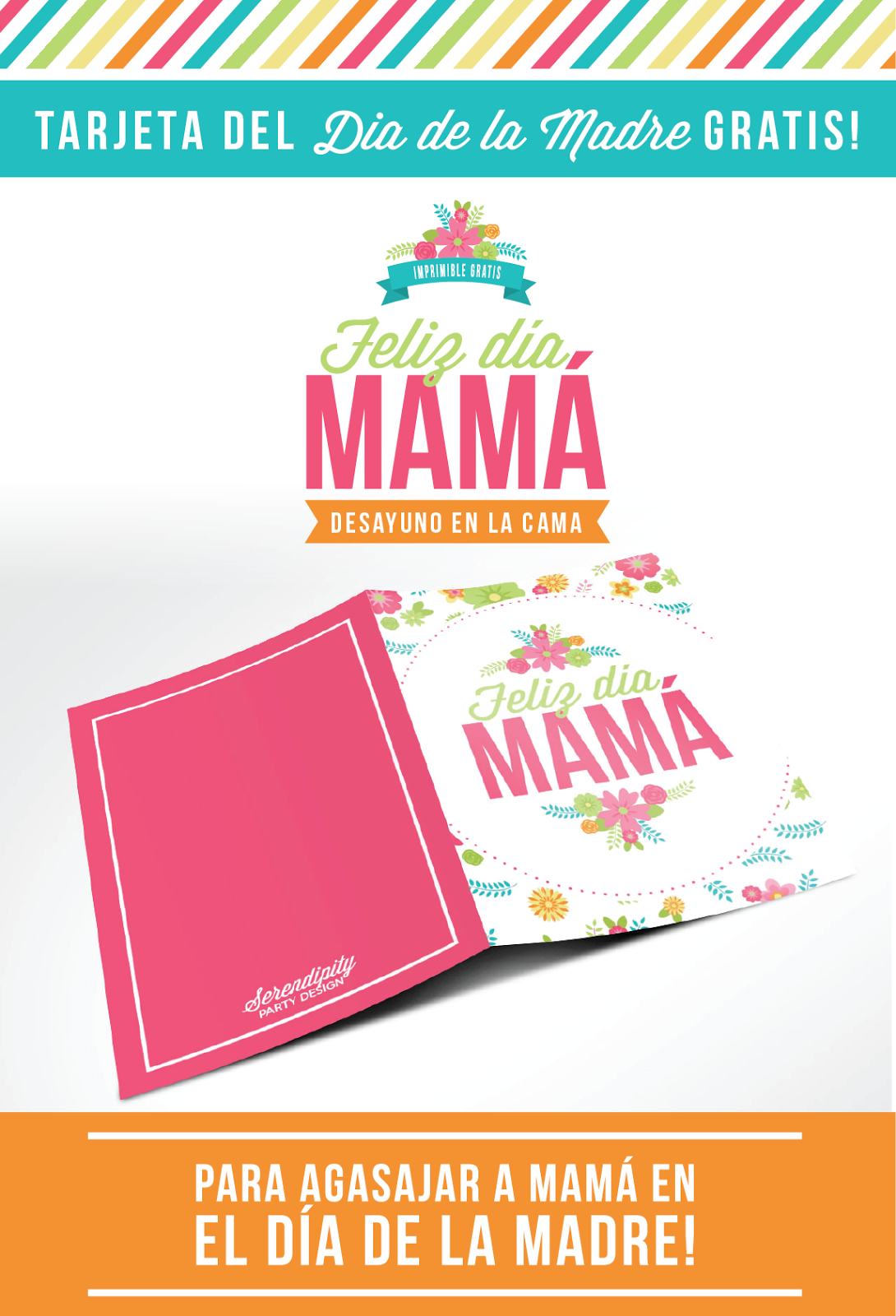 Tarjeta del Día de la Madre Imprimible Gratis | primaria 2015 ...