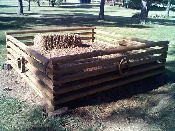 31 DIY Compost Bin Ideas You'll Want to Get to Work on Now is part of Large garden Decking - I wouldn't consider myself incredibly environmentally savvy, but as a hobby farmer I do have a natural tendency to notice the amount of waste produced around my place, and lately I've been very focused on lowering the amount of trash my family produces, despite feeding many of our scraps to our poultry  I also am prone to using glass and metal discards in DIY projects, but I've been hard pressed to find a way to put used paper products (think tissues, napkins, paper plates, and cardboard) to good use  Enter the compost bin  A few months ago I was further introduced to composting techniques, and I truly was amazed at how many things can actually be composted (paper products included)  I decided I needed a more detailed look into this as I had always been a manure girl; and didn't think I had much use for compost in my garden  until now  In my recent forays into composting I have come across some amazing composting bin ideas for both home and yard that has made me want to open a charge