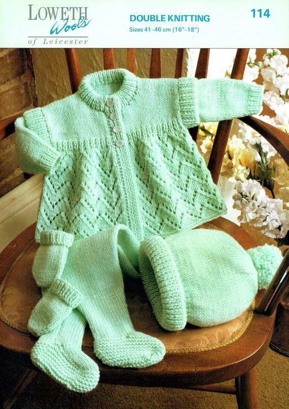 72bf3b975 PDF Baby Knitting Pattern
