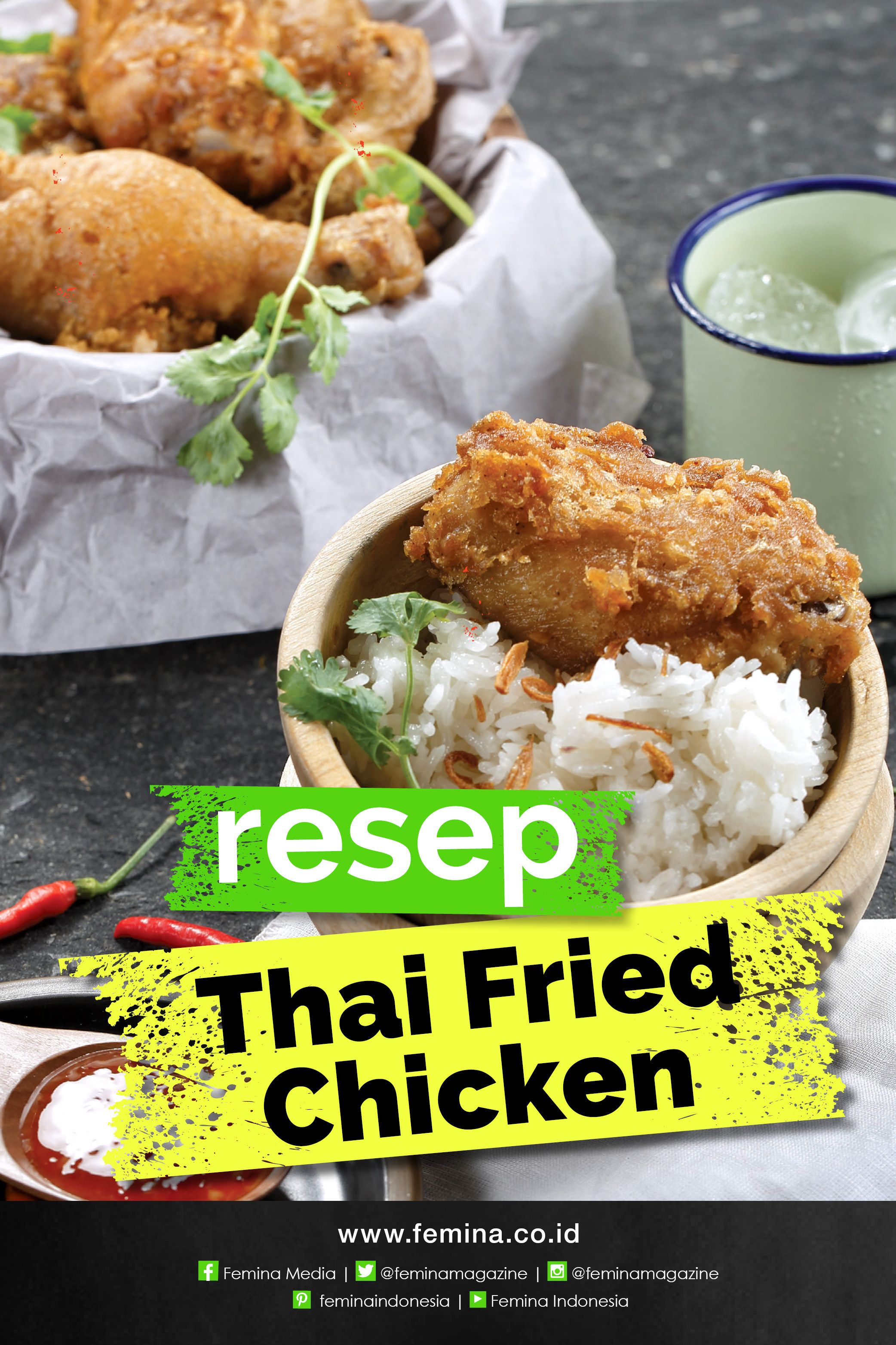 Resep Thai Fried Chicken Resep Makanan Resep Makanan