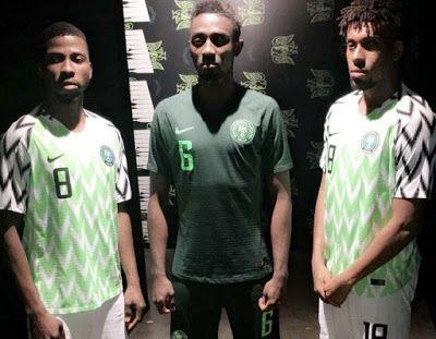 8ad5e3305e4 soccer football wear: Iwobi, Ndidi To Preview Eagles' Latest Jersey ...