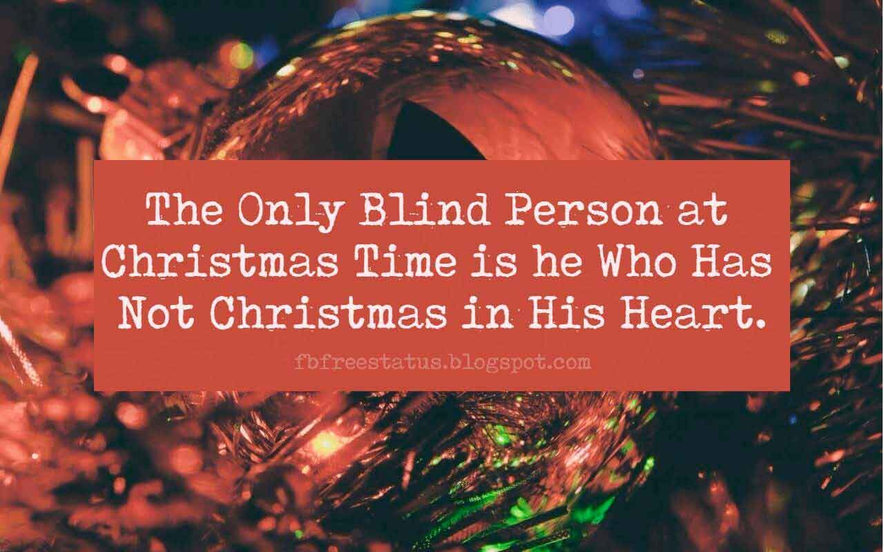 Famous Christmas Quotes Saying Images For Christmas Cards