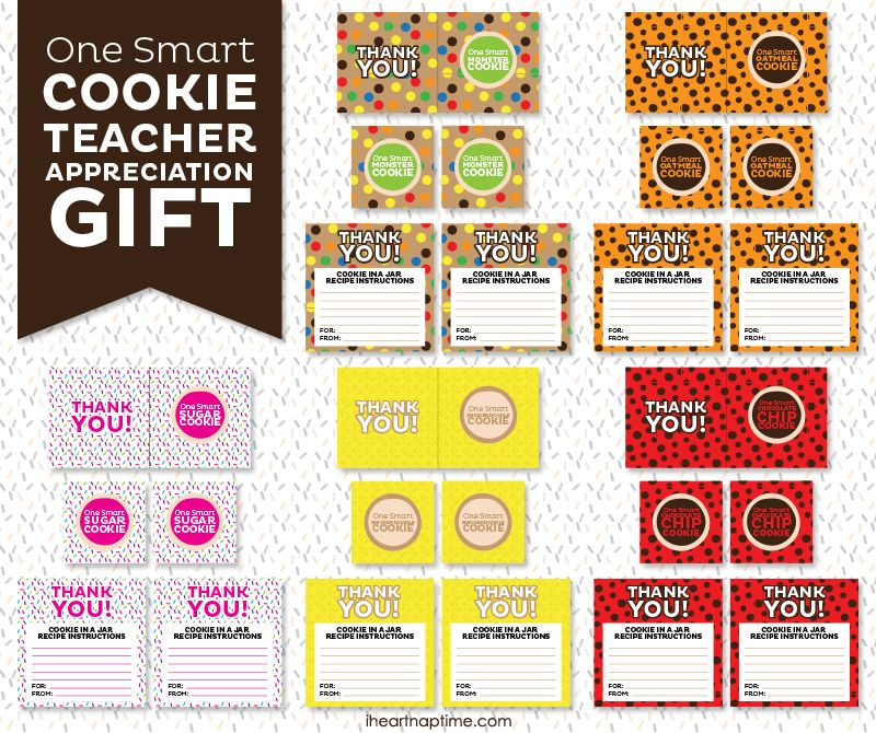 One smart cookie teacher gift with free printable on www one smart cookie teacher gift with free printable on iheartnaptime negle Choice Image
