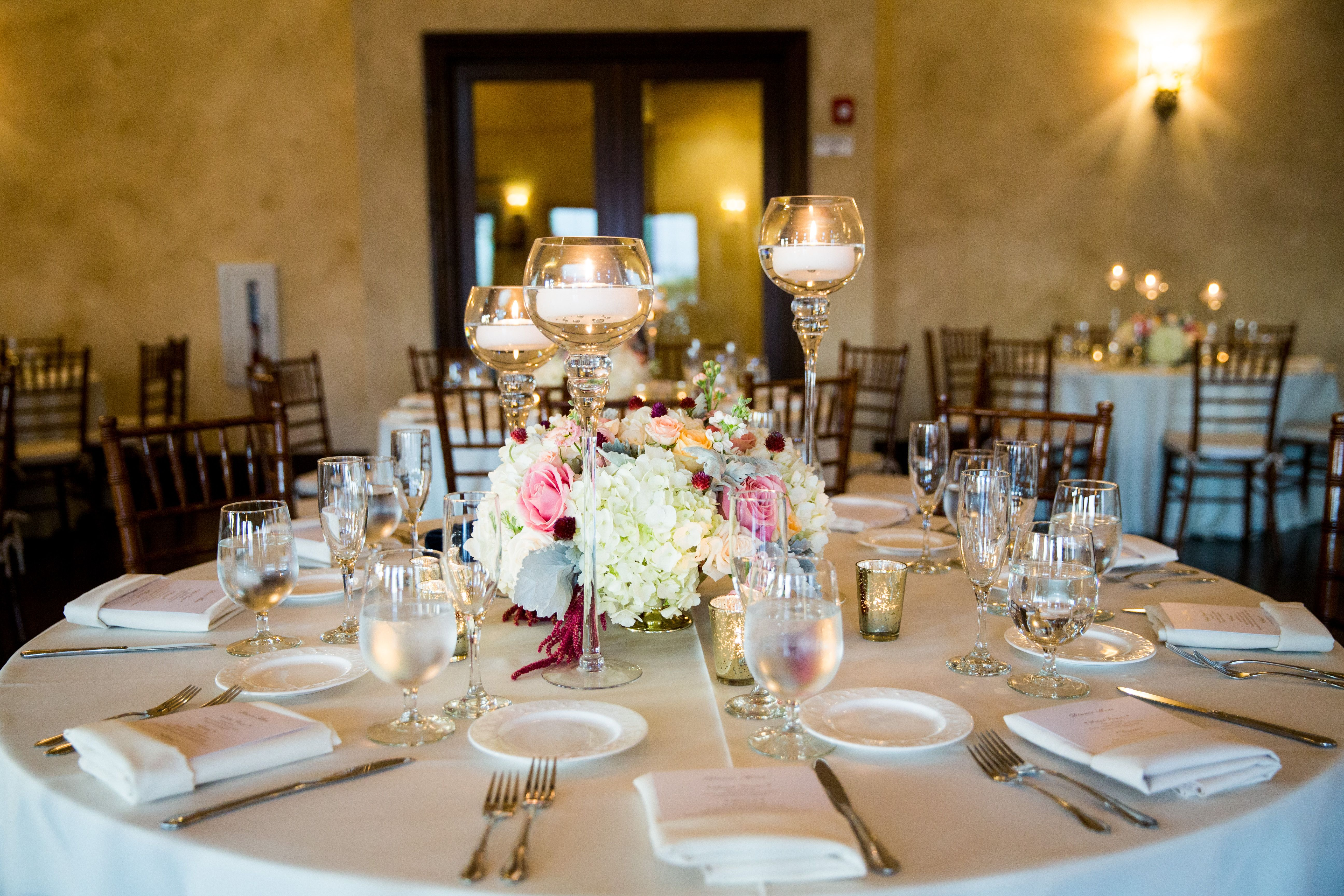 Wedding decorations without flowers  Beautiful Centerpieces with candles and flowers  Romantic and Not