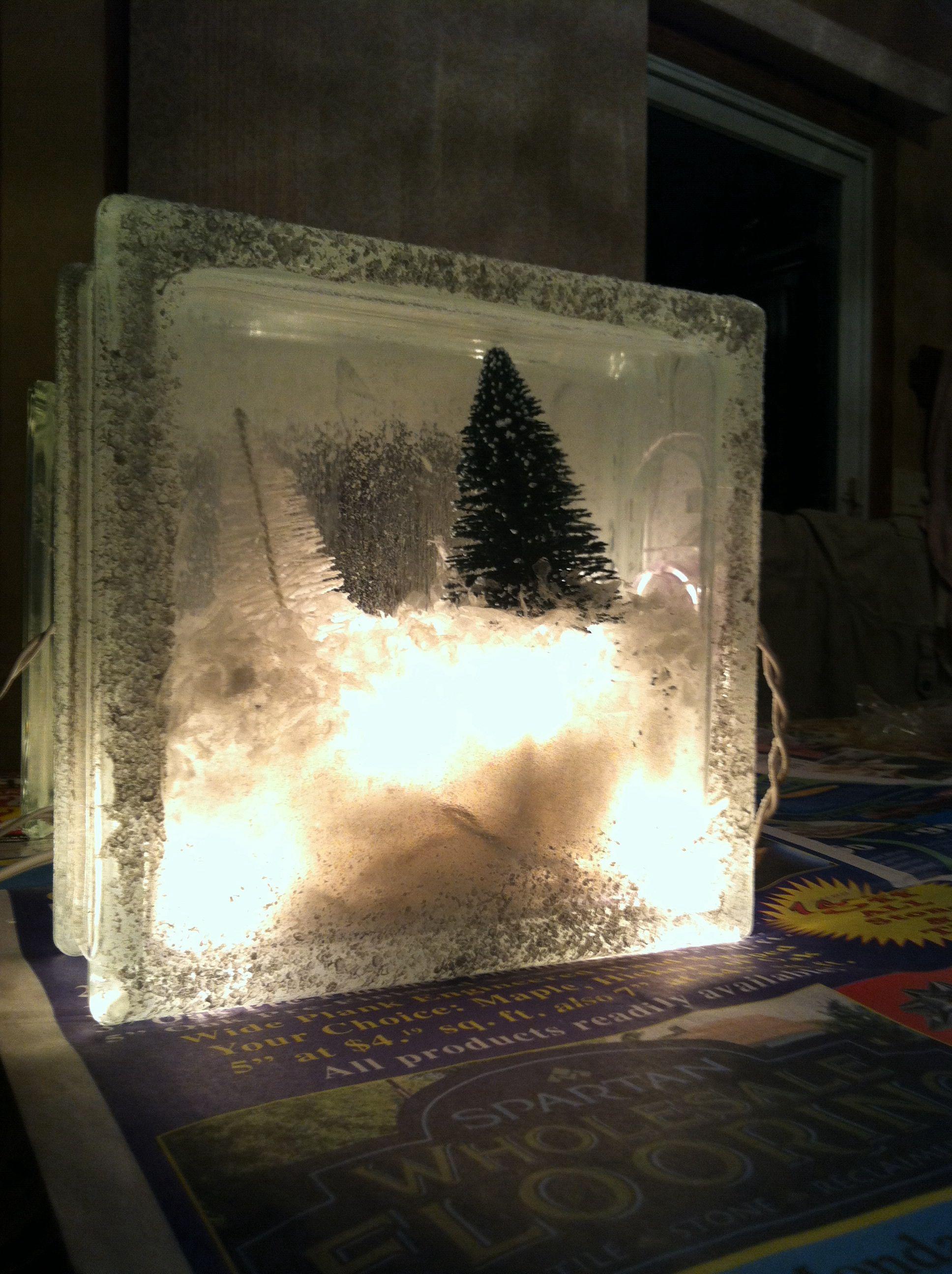 Christmas craft #christmas #craft #diy #christmasdiy #christmascraft #wintercraft #winter #icecube #snow #glasscube