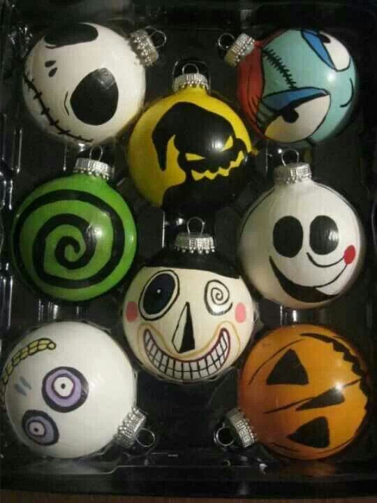 nightmare before christmas ornaments - Night Before Christmas Decorations