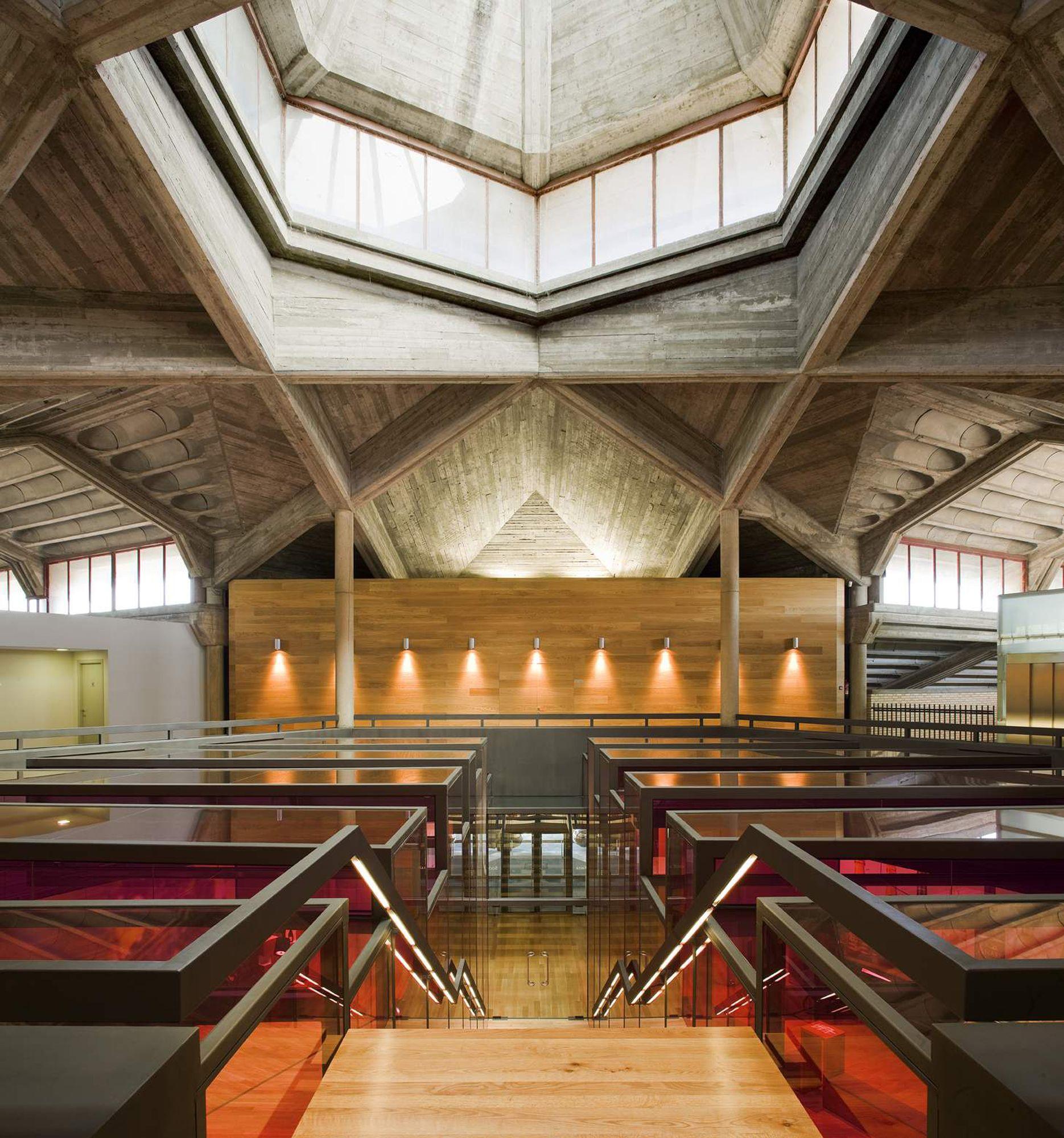Vinícola Olarra / IA+B Arkitektura Taldea © Aitor Ortiz