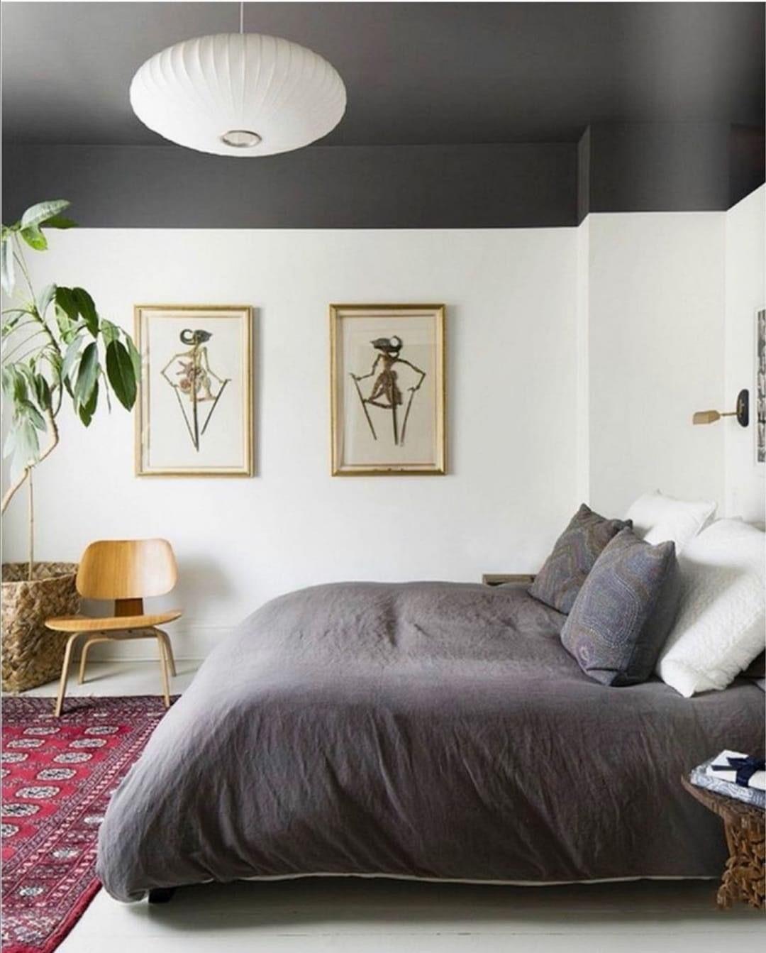 Black ceiling in 2020 Bedroom ceiling light, Bedroom