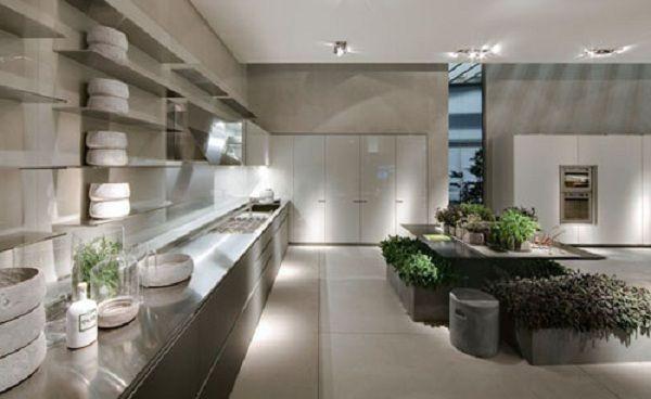 Minimalistische küche design