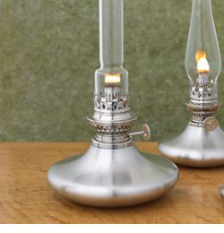 mariner pewter oil lamp handcrafted in middlebury vermont with