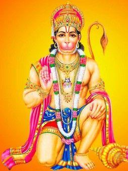 Lord Hanuman Best Smartphone Homescreen Wallpaper