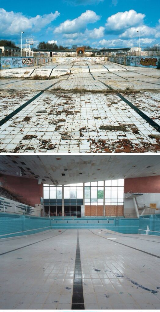 Abandoned swimming pools always give me the creeps - Campsites with swimming pools near me ...