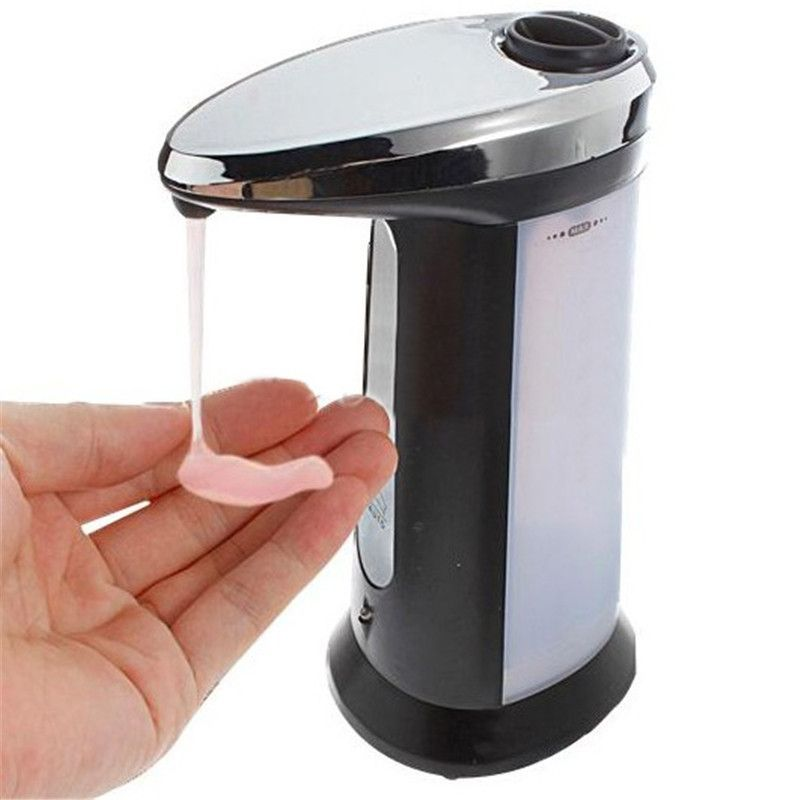 400ml Automatic Hands Free Sensor Soap Dispenser Hand Sanitizer