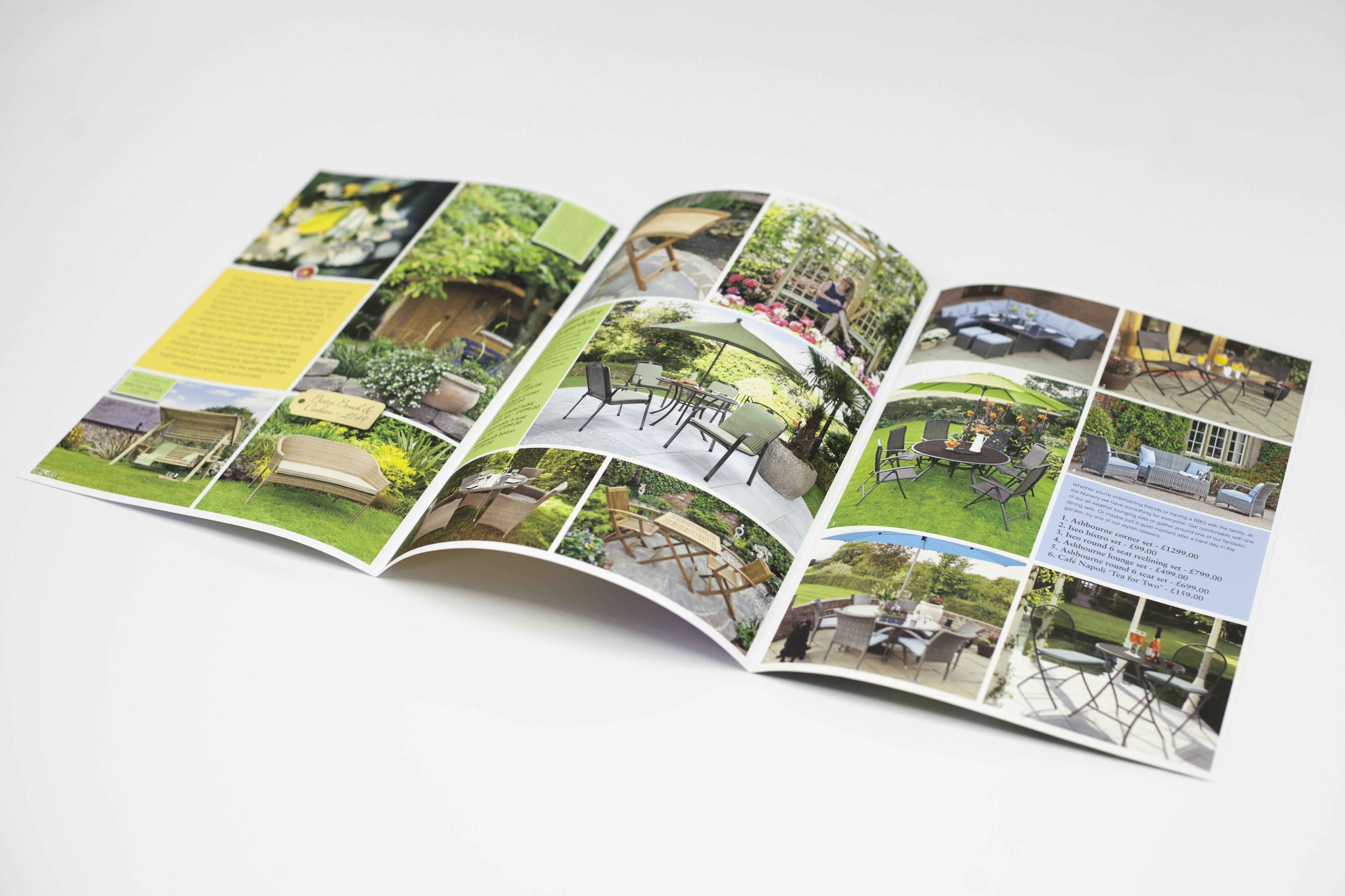 #Bernaville #Nurseries 6page Mailer #litho #printing # ...