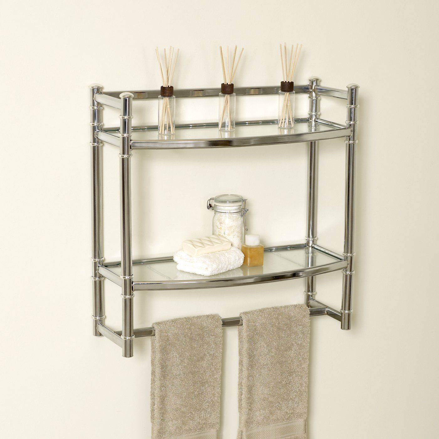 Bathroom Shelves Product Zenith Products 9012SS Bathroom