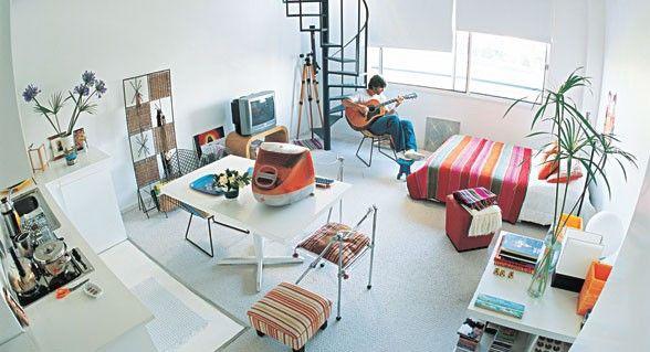 Monoambientes ideas para aprovechar el espacio ideas - Aprovechar el espacio ...