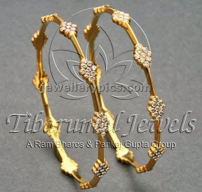 4 diamond bangle designs at tibarumal jewellers latest