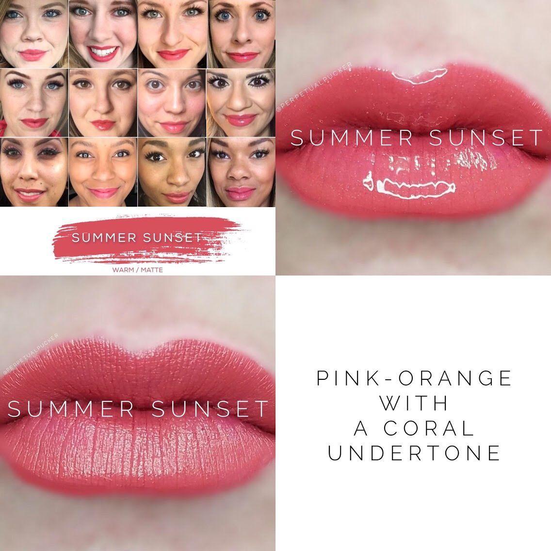 Summer Sunset LipSense #Lipcolors