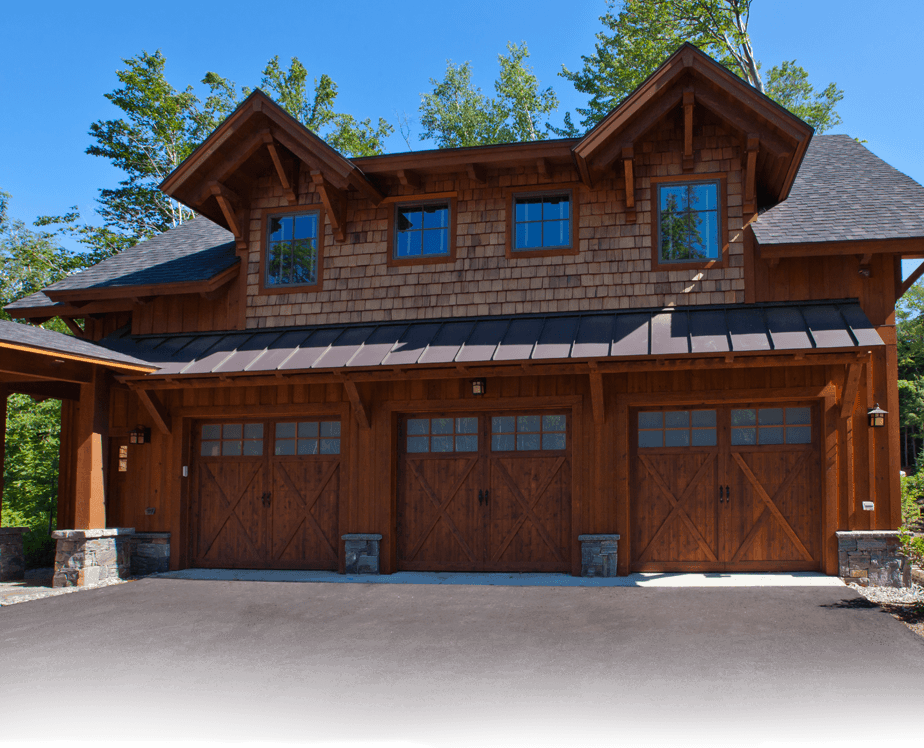 Ordinary Cabin Garage Plans Part - 11: Log House Plans | Timber Frame House Plans. Three Car Detached Garage With  Living Space