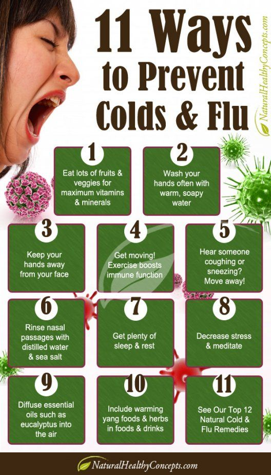 Natural Ways To Prevent Colds