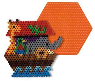 Large Hexagon Pegboard for Perler Fuse Beads Dimentions http://www.amazon.com/dp/B0052O83ZS/ref=cm_sw_r_pi_dp_8AYdub0MCW8YZ