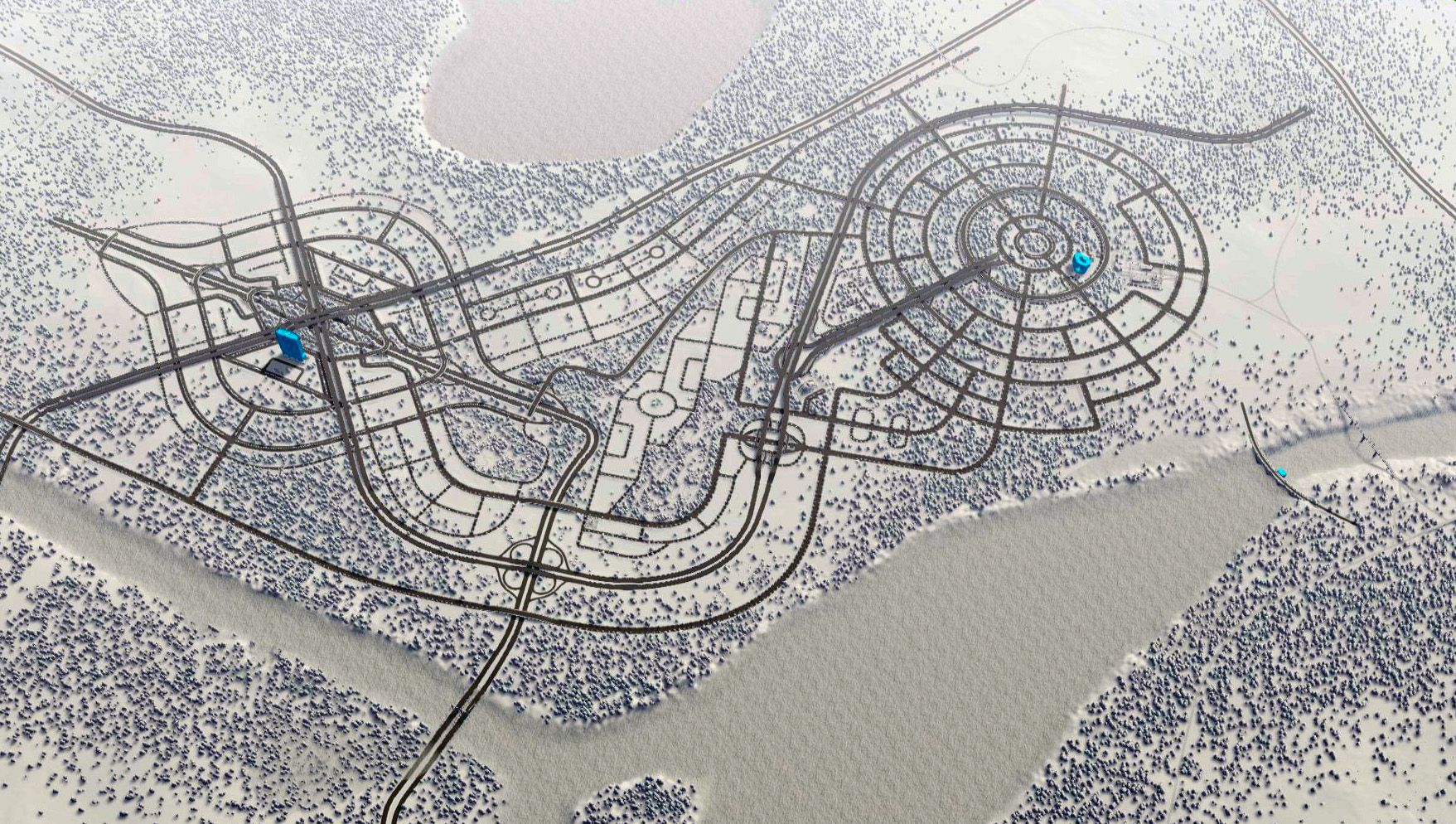 Cities skylines efficient road layout google search
