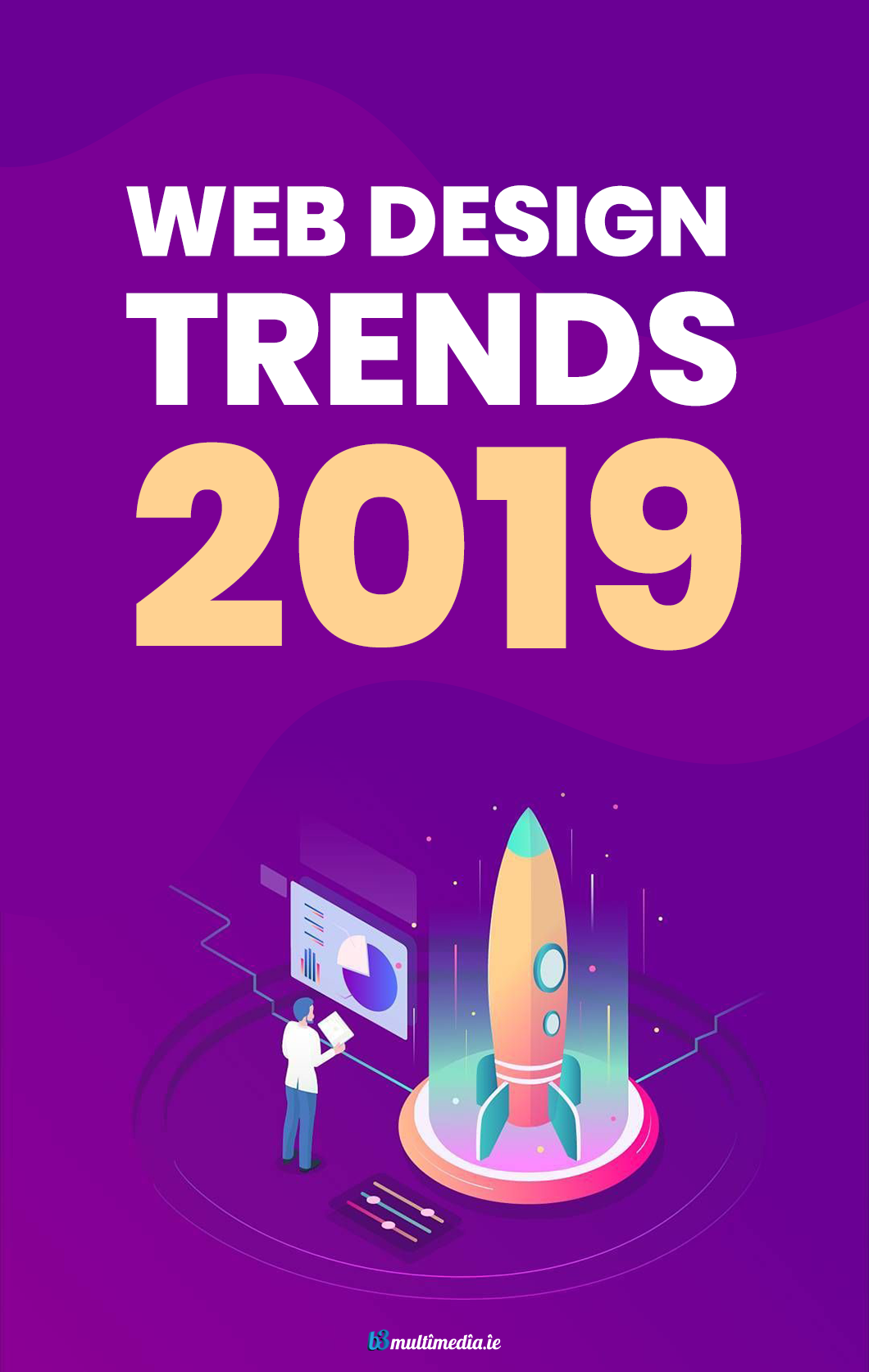 Web Design Trends That Will Dominate In 2019 B3 Multimedia Solutions Web Design Trends Web Design Tips Web Design