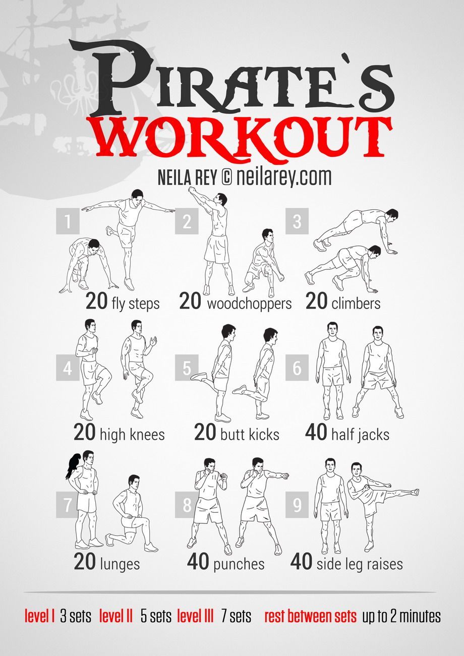 Pirates Workout Health and Beauty Workout Neila rey
