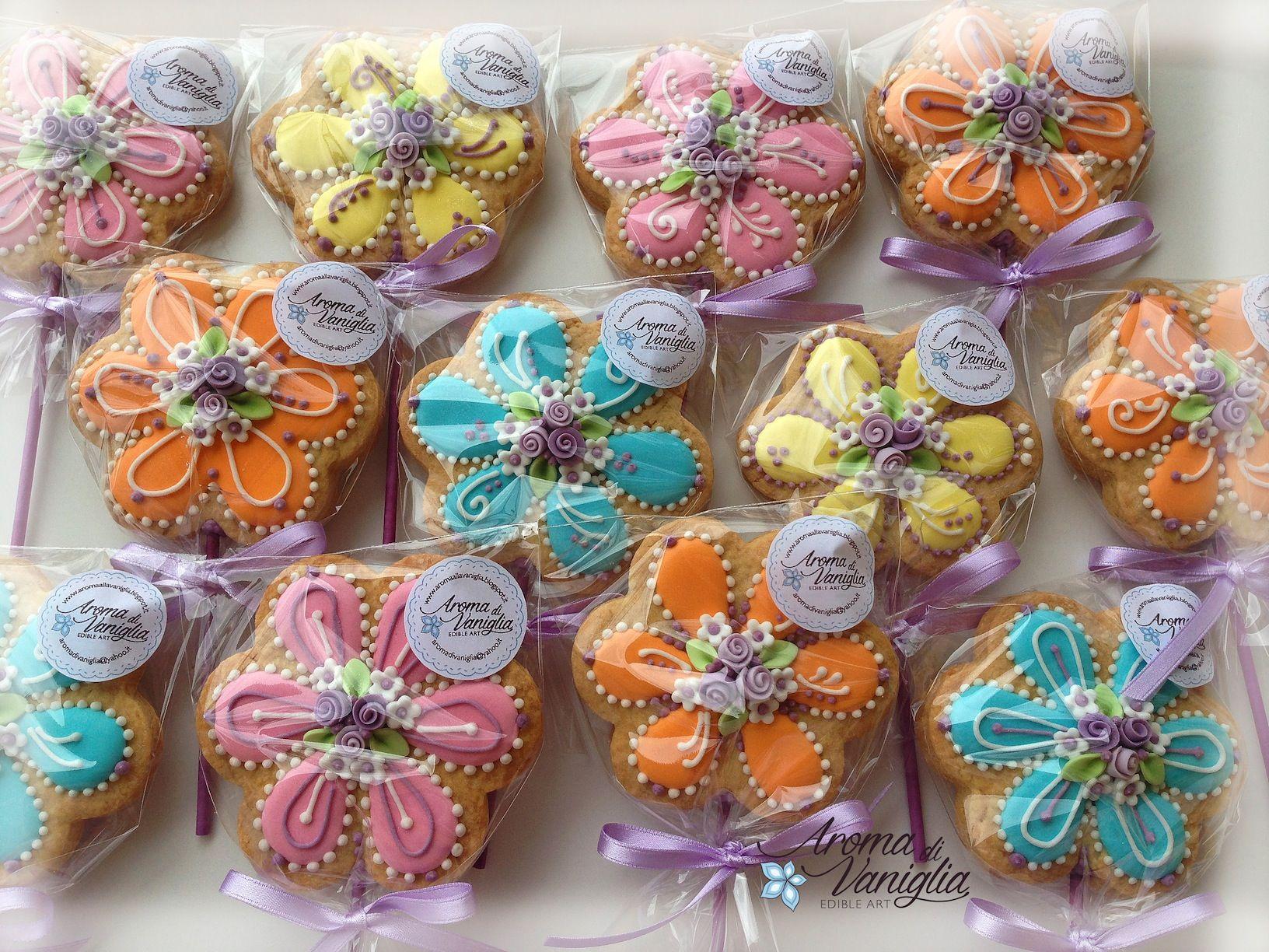 biscotti segnaposto comunione   biscotti decorati ...