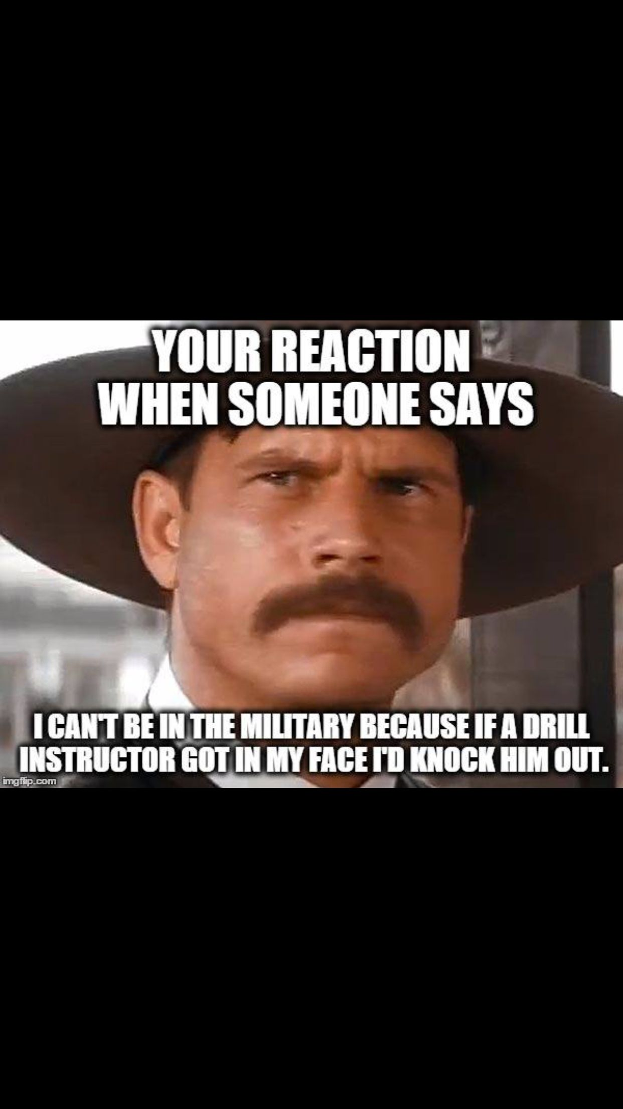 91481c0f2 And by knock him out they mean cry like a baby Military Post, Military Memes
