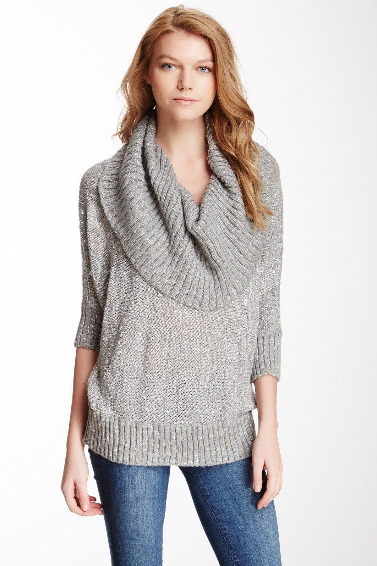 Large Cowl Neck Sweater | Clothes | Pinterest | Cowl neck, Clothes ...