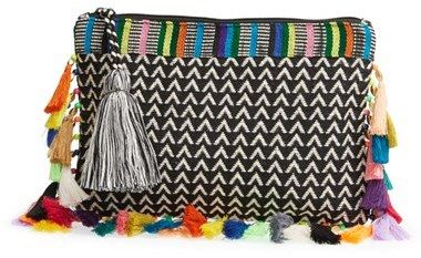 74942ba820b boho pouch | Pom poms and tassels | Pinterest