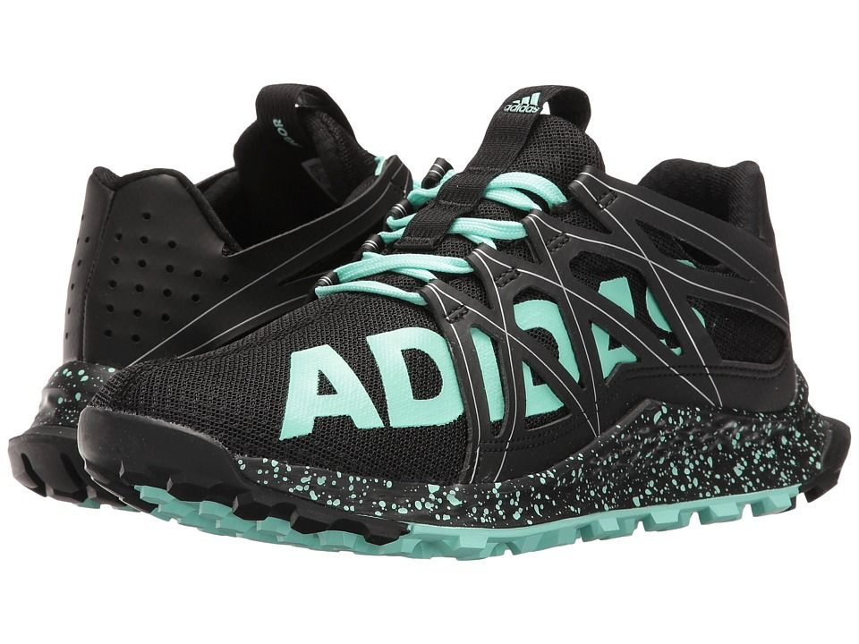 6afef00c3dbf4f adidas Running Vigor Bounce Women s Running Shoes Core Black Onix Easy Green