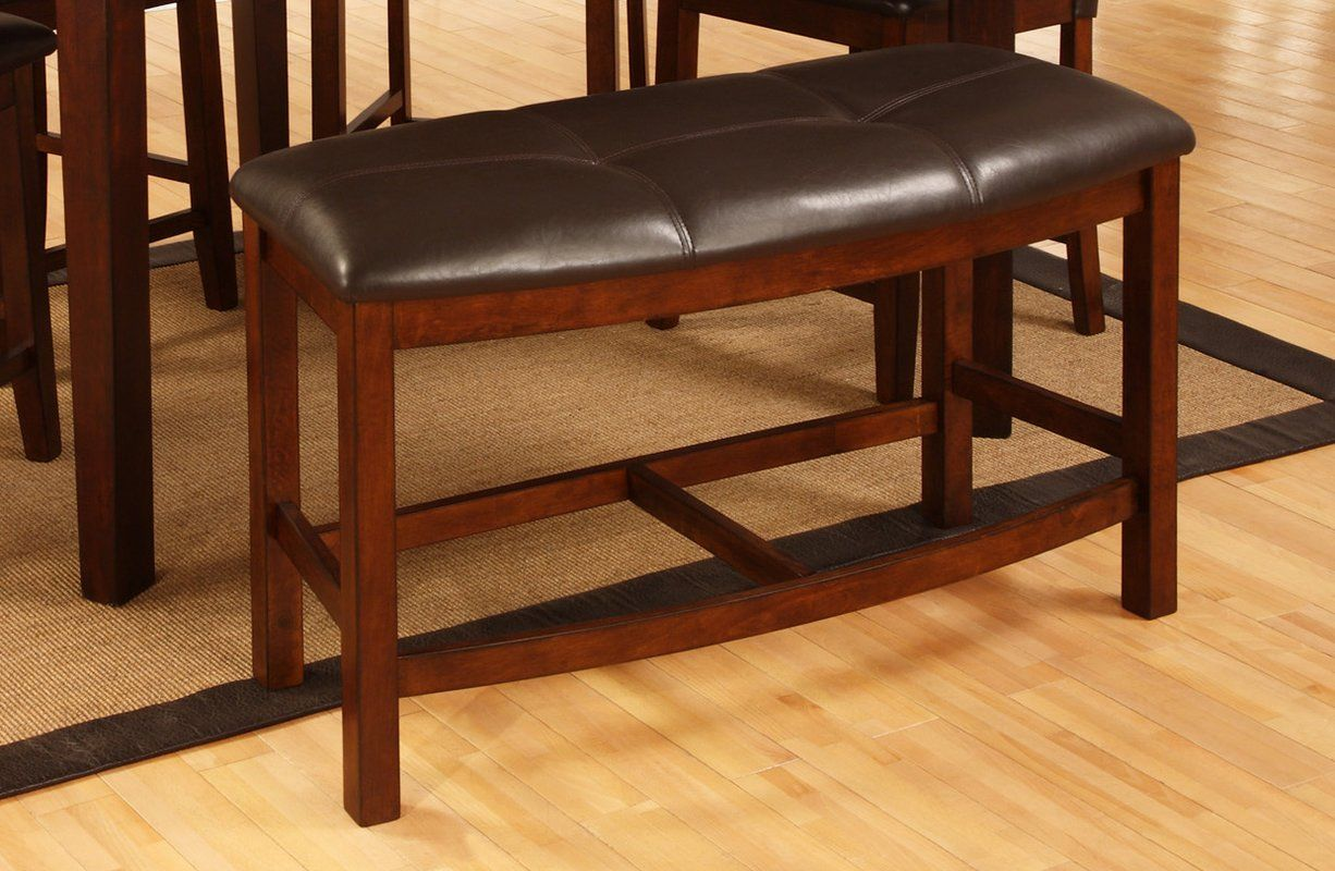 Dining room table with upholstered bench  Upholstered Bench  Upholstered Dining Bench  Pinterest  Bench
