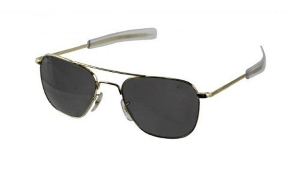 Amazon.com: American Optical Original Pilot Eyewear 52mm Silver ...