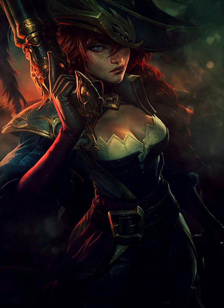 Lol Miss Fortune Hd Wallpaper Miss Fortune League Of Legends Lol