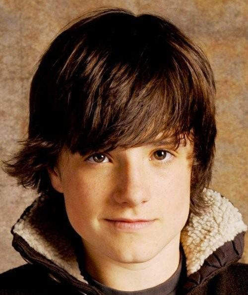 top 10 haircuts for photo of josh hutcherson medium length shaggy hairstyle 3009