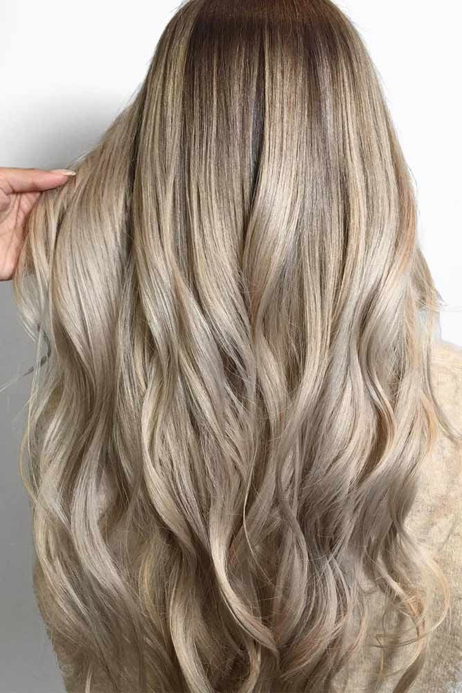 Haarfarbe champagnerblond