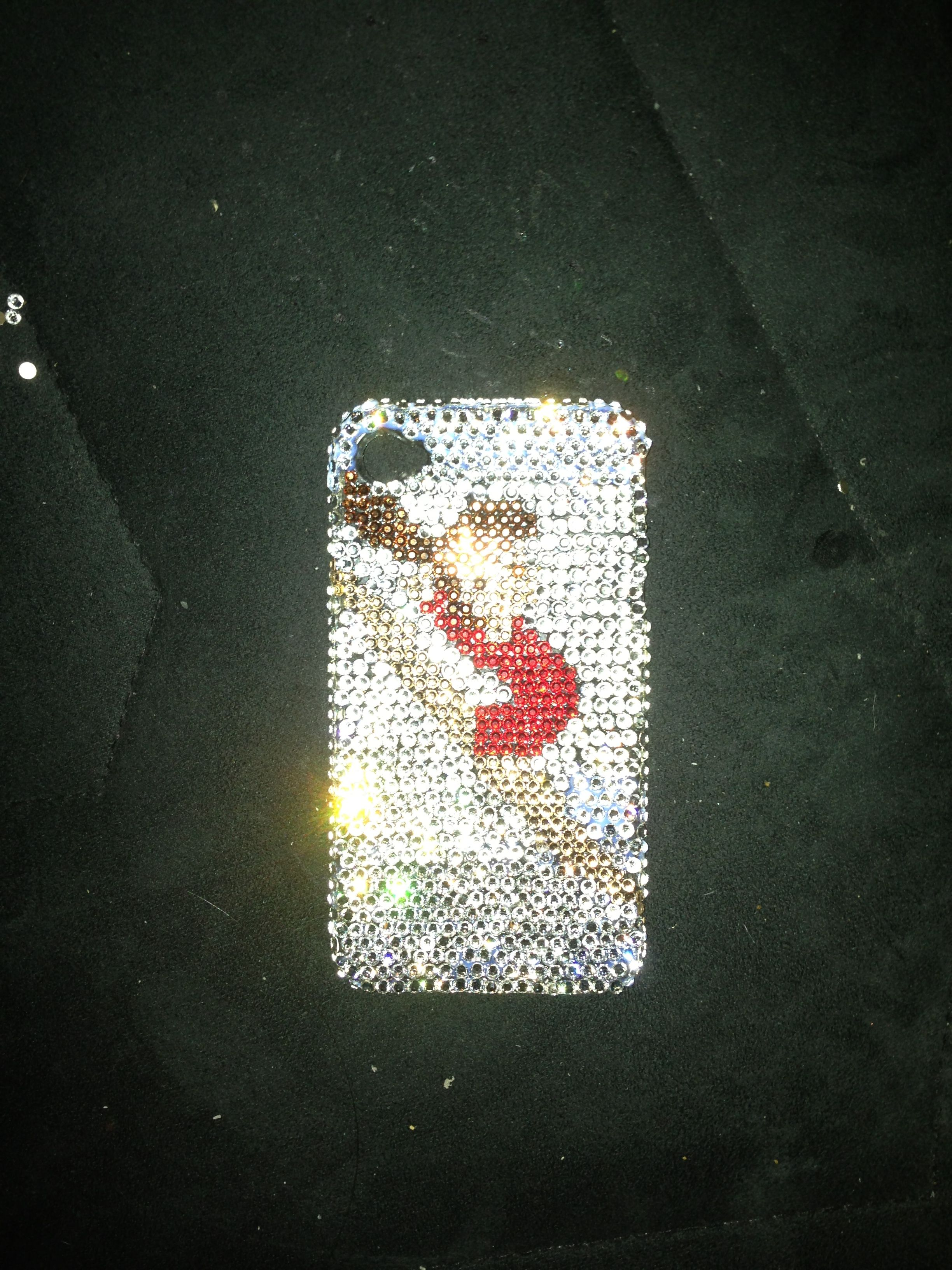 Leaping dance cell phone case!
